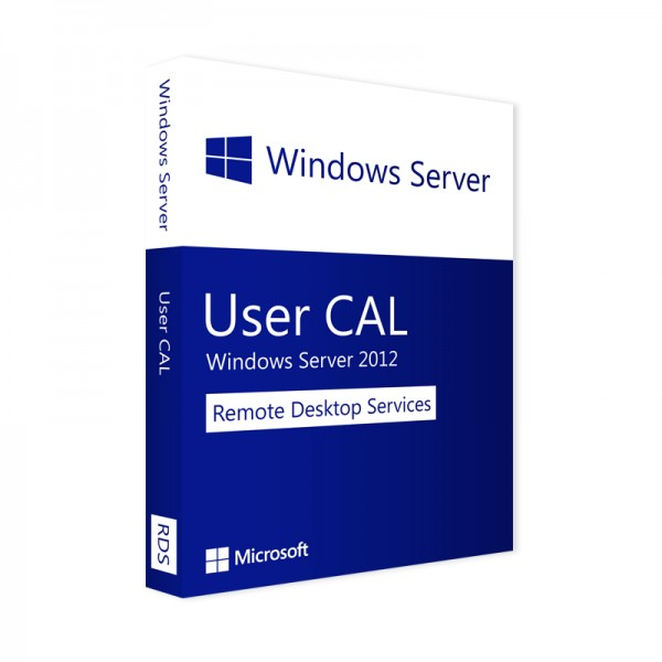 Microsoft Windows Server 2012 Remote Desktop Services 10 User CAL