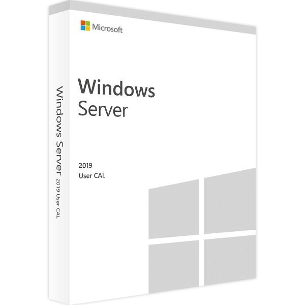 Microsoft Windows Server 2019 - 1 User CAL