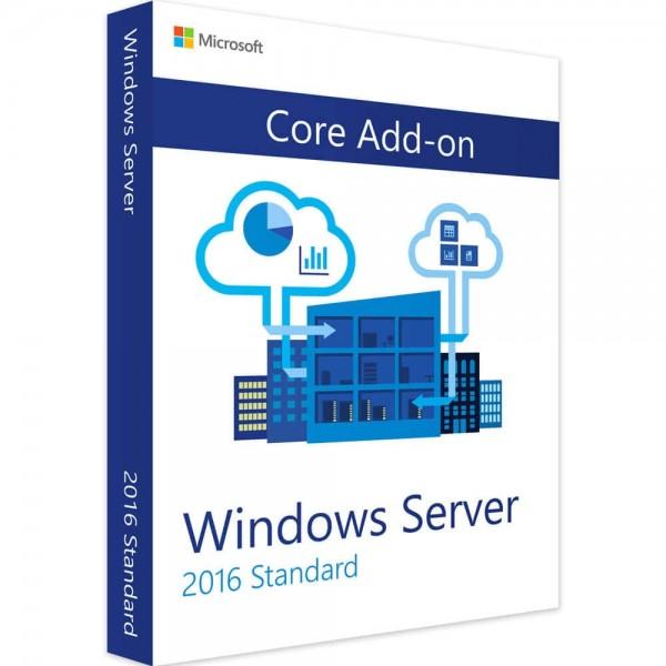 Windows Server 2016 Standard Core Add-on
