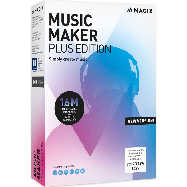 MAGIX Music Maker Plus Edition - 2020