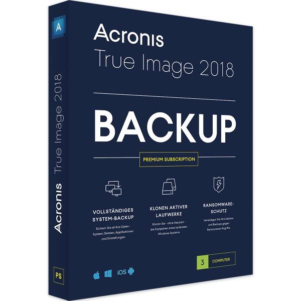 Acronis True Image Premium 2018