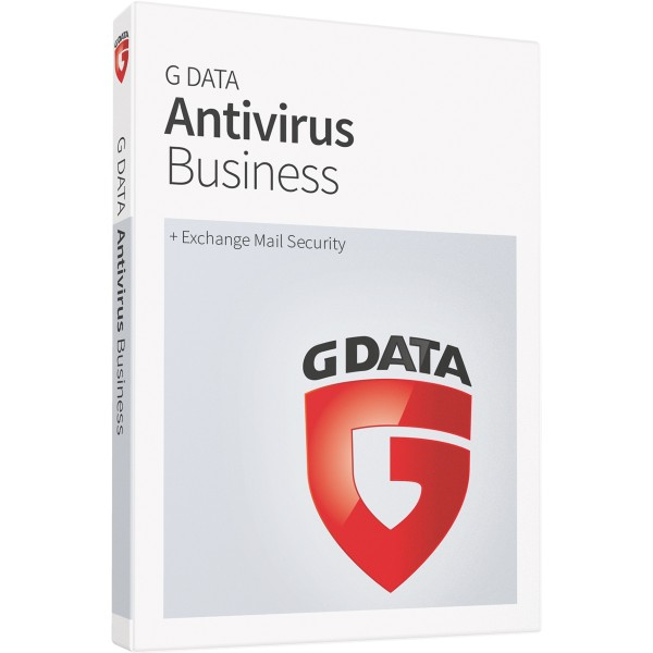 G Data AntiVirus Business (+Exchange Mail Security) - Neuabonnement