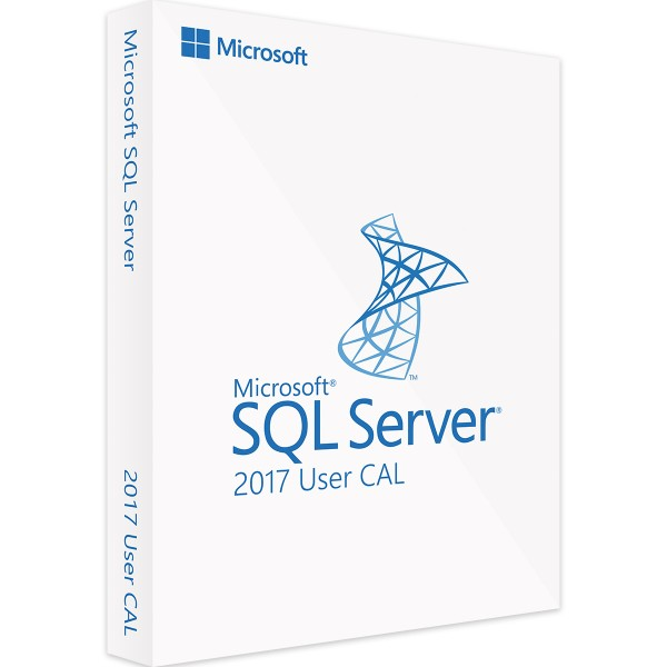 Microsoft SQL Server 2017 Standard - 10 User CALs