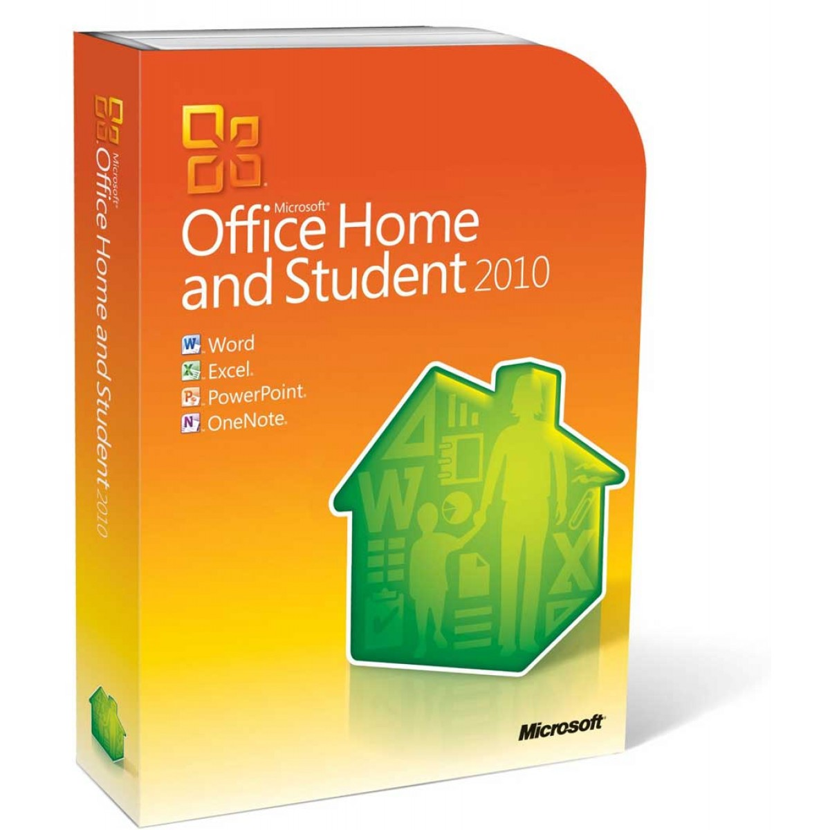 microsoft office home and student 2010 kaufen und. Black Bedroom Furniture Sets. Home Design Ideas