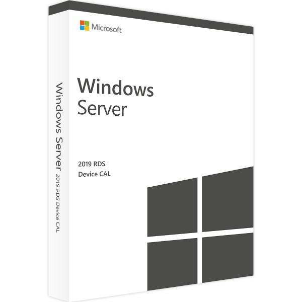 Microsoft Windows Server 2019 RDS - 1 Device CAL