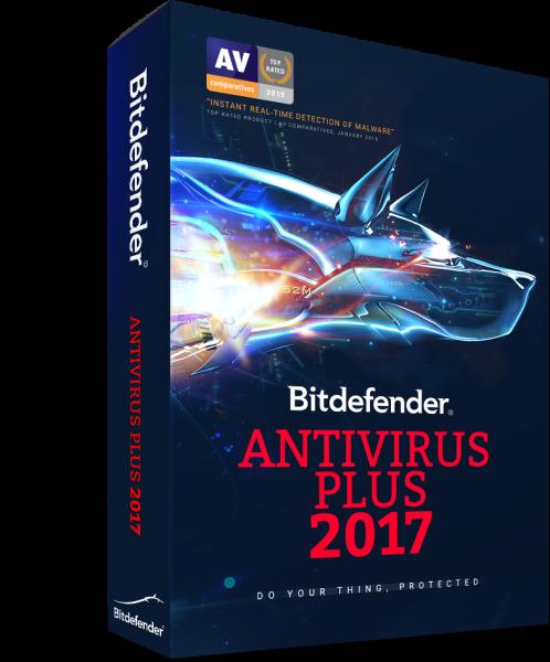 Bitdefender Antivirus Plus 2017 günstig kaufen | tornadosoft.de