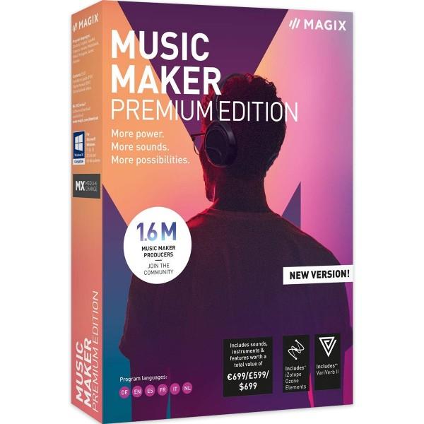 MAGIX Music Maker Premium Edition - 2020