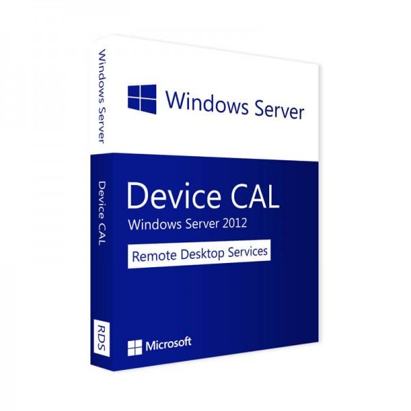 Microsoft Windows Server 2012 RDS - 10 Device CALs