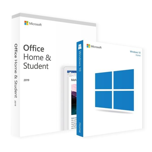 Microsoft Windows 10 Home & Office Home&Student 2019