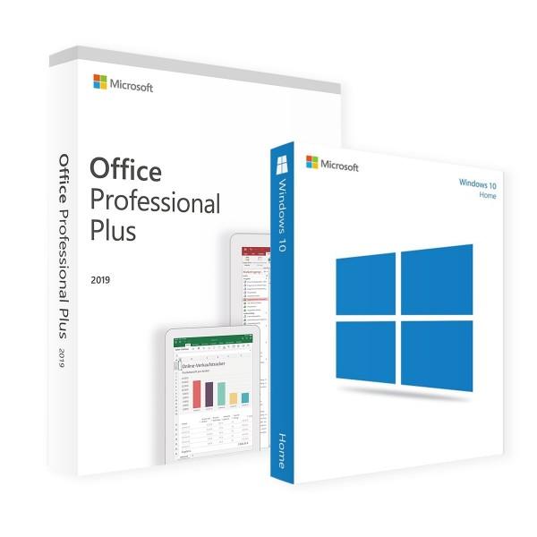 Microsoft Windows 10 Home & Office Professional Plus 2019