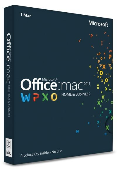Microsoft Office 2011 Home and Business für MAC