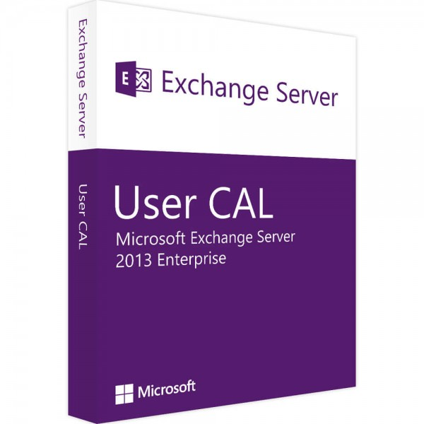 Microsoft Exchange Server 2013 - 10 Enterprise User CALs