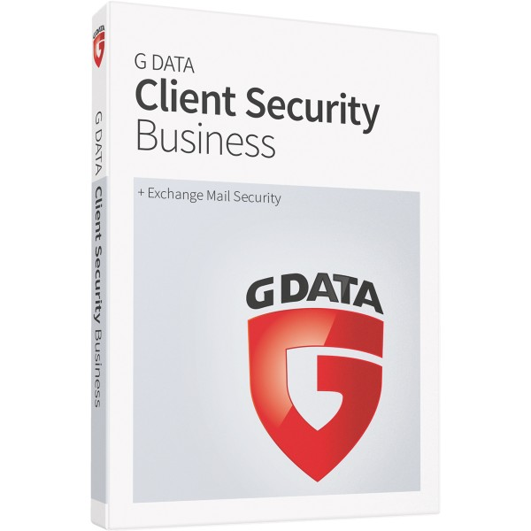 G Data Client Security Business (+ Exchange Mail Security) - Neuabonnement