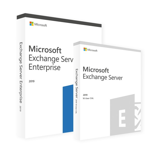 Microsoft Exchange Server 2019 Enterprise & 10 User CALs
