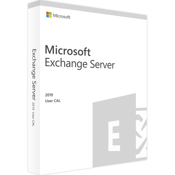 Microsoft Exchange Server 2019 Std 10 User CALs