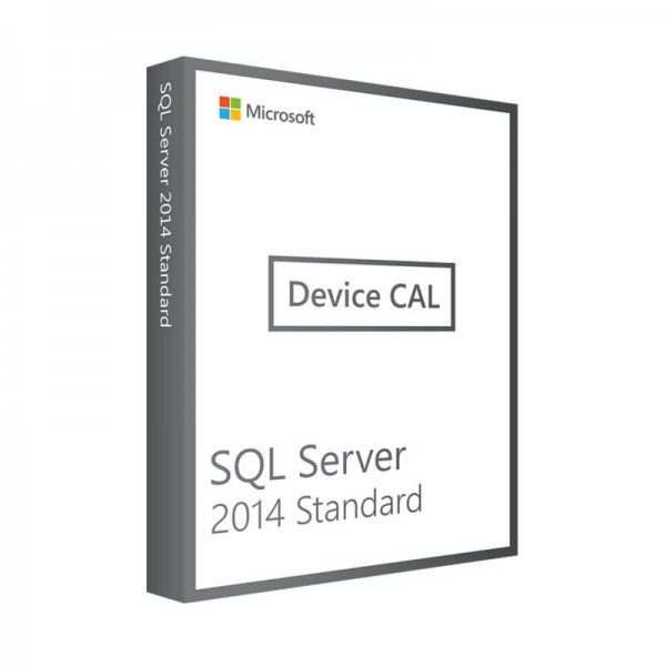 Microsoft SQL Server 2014 Standard - 10 Device CALs