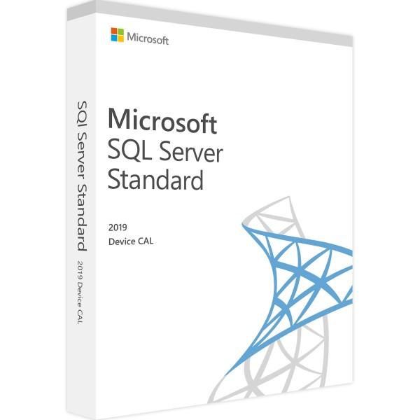 Microsoft SQL Server 2019 Standard - 1 Device CAL