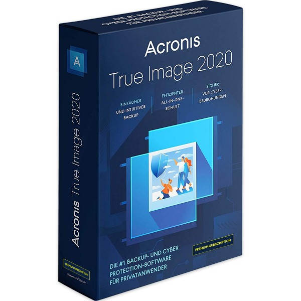 Acronis True Image 2020 Premium Subscription 1 TB