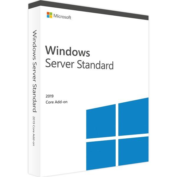 Microsoft Windows Server 2019 Standard Core Add-On (2 Core)