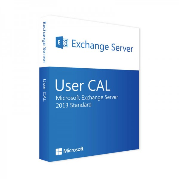 Microsoft Exchange Server 2013 Standard 10 User CALs