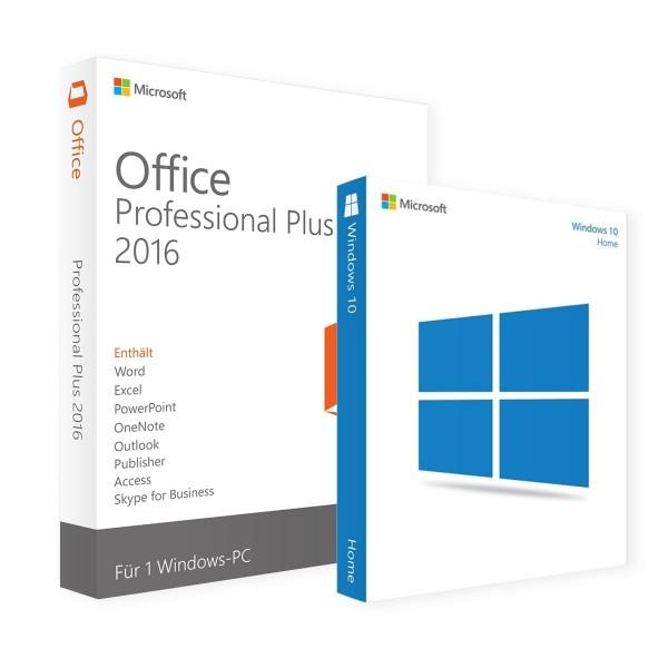 Microsoft Windows 10 Home & Office Professional Plus 2016