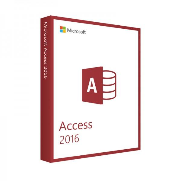 icrosoft Access 2016