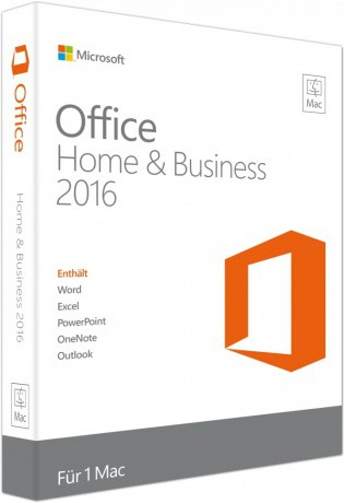 Microsoft Office 2016 Mac Home and Business