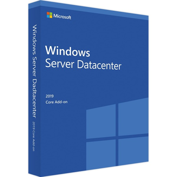 Microsoft Windows Server 2019 Datacenter Core Add-On (2 Core)